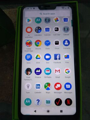 Mint condition brand new Moto g7 power unlocked for sale for Sale in Tarpon Springs, FL