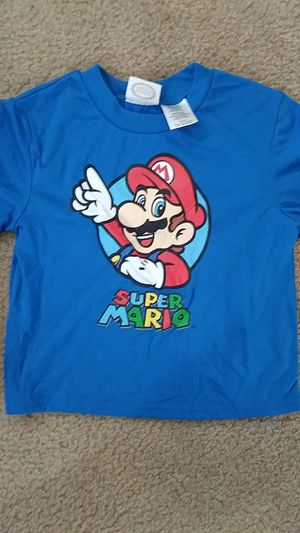 Size 6-7 boys ™Nintendo super Mario t-shirt NEW for Sale in Falls Church, VA