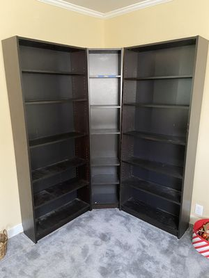 Corner Book shelf for Sale in Houston, TX