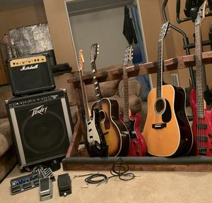 Bunch of guitars/equipment for Sale in Stafford, VA