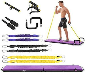 IDEER LIFE All-in-one Home Gym Workout Fitness Platform, Portable Full Body Exercise Home Workout Kit Push up Bar Building Training Workout for Sale in Los Angeles, CA