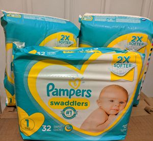 Pampers Size 1 Diapers for Sale in San Diego, CA