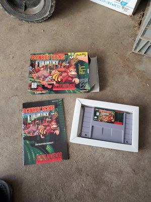 Super Nintendo donkey kong country for Sale in Fresno, CA