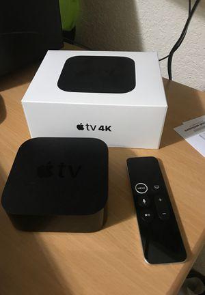 Apple TV 4K for Sale in San Antonio, TX