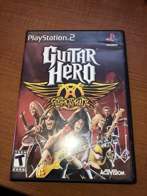 Guitar Herp AeroSmith PS2 Game for Sale in Atlanta, GA