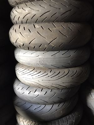 New and used motorcycle tires 50$ each for Sale in Fort Lauderdale, FL
