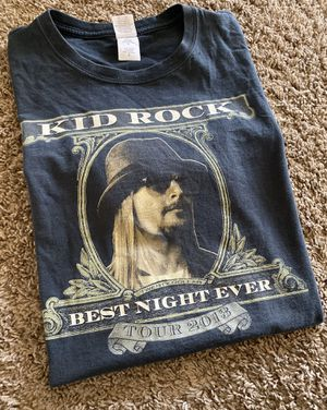 OG kid rock 2013 rock band tour shirt for Sale in Canton, OH