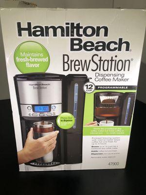 Hamilton Beach Coffee Maker Machine 12 Cup BrewStation Programmable 47900, Black for Sale in Houston, TX