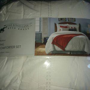 One kings lane open house wickford king comforter set for Sale in Milton, FL