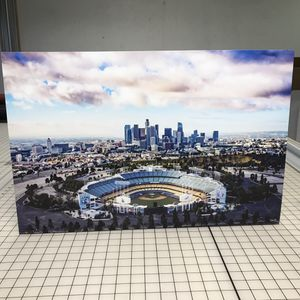 Los Angeles Dodgers Baseball Poster Board Supreme KAWS Bape Ikonick Off White for Sale in Anaheim, CA