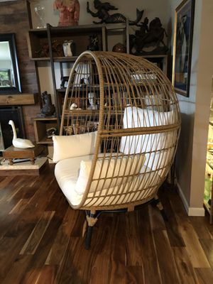 Indoor/outdoor egg chair for Sale in Federal Way, WA