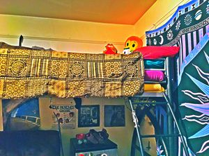 Twin XL (38x80) Top only Bunk Bed Frame for Sale in Eugene, OR