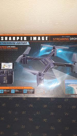 Sharper image STREAMING EDITION dx-5 video Drone for Sale in Arlington, WA