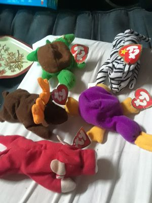 Ty beanie baby collection smalls 5 for Sale in PLEASURE RDGE, KY