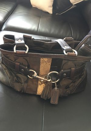 Authentic and Retired Coach Purse for Sale in Mundelein, IL