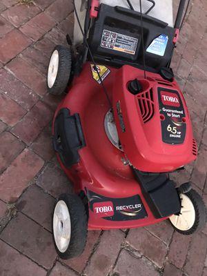 Toro lawnmower for Sale in Carson, CA