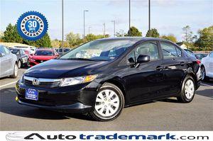 2012 Honda Civic Sdn for Sale in Manassas, VA