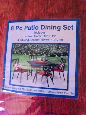 Patio furniture cushion set for Sale in Lodi, CA