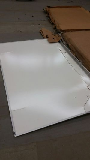 4x8 dry erase boards. Cracks and tears for Sale in Fresno, CA