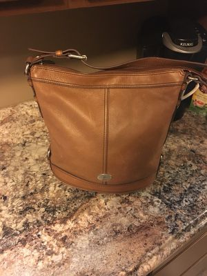 Genuine Leather FOSSIL Bag for Sale in White Oak, PA