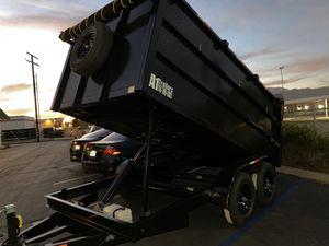 Dump Trailer 8x12x4 for Sale in Fresno, CA