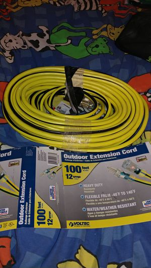 Extension cord 100. Feets for Sale in Avondale, AZ