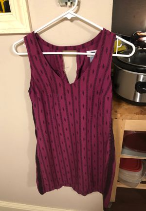 Cute Short Old Navy Sleeveless Rayon Dress Med for Sale in Everett, WA