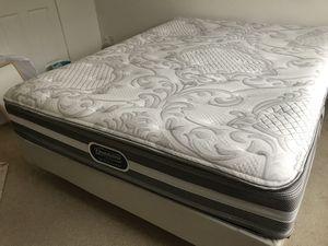 BeautyRest Queen size mattress + IKEA bed frame for Sale in Redmond, WA