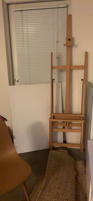 Easel and Canvas for Sale in Los Angeles, CA