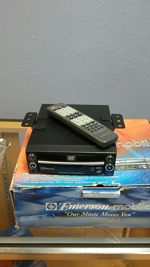 Emerson mobile Dv1500 12v portable Dvd player