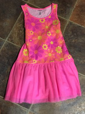 Girls fancy Justice summer dress for Sale in Wellington, OH