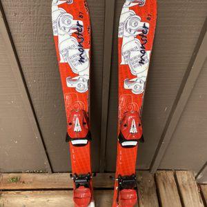 Kids 87cm - Hear Team Skis w/Adjustable Bindings for Sale in Seattle, WA