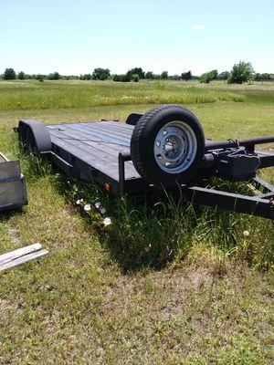 18 1/2 ft car hauler trailer for Sale in Red Oak, TX