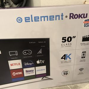 "50"" Element Roku Smart TV New New New for Sale in Fort Lauderdale, FL"