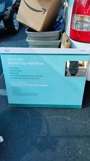 "Beveled edge wall mirror 24x30"" 4pcs. for Sale in Fremont, CA"