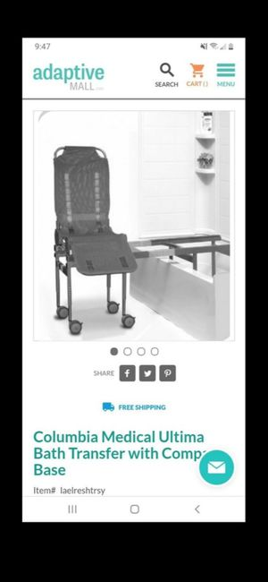 Bath Transfer With Compact Base For Disabled for Sale in Los Angeles, CA