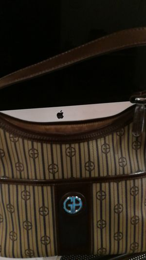 Giani Bernini stripe signature hobo shoulder bag for Sale in Swissvale, PA