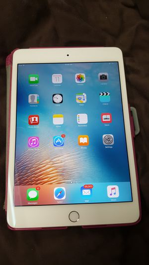 "Apple iPad Mini 4 7.9"" Tablet 16GB Wi-Fi  280 for Sale in Baltimore, MD"