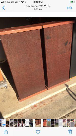 ESS Transtatic 1 vintage stereo speakers for Sale in Cedar Park, TX