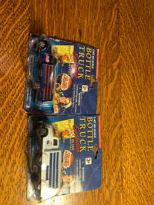 Two Pepsi trucks toys collection for Sale in San Leandro, CA