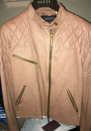 Gucci leather jacket for Sale in Los Angeles, CA