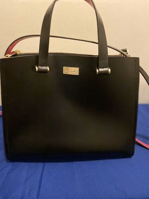 Kate Spade New York Black & Sweetheart Pink Kyra Bag for Sale in New Canaan, CT