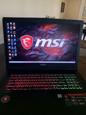 MSI Gaming Laptop for Sale in Vista, CA