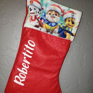 Child's Stocking with Name for Sale in Glendale, AZ