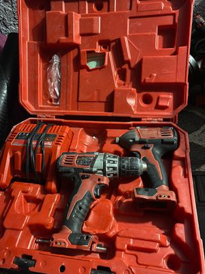 Dual COMBO Drill Set - Impact & Hammer & Precision for Sale in Santa Ana, CA