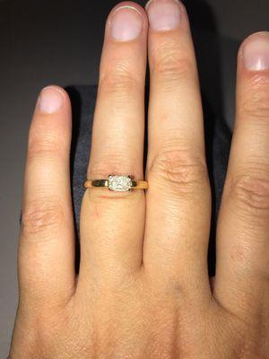 14k , 0.5 carat diamond engagement ring for Sale in Bellevue, WA