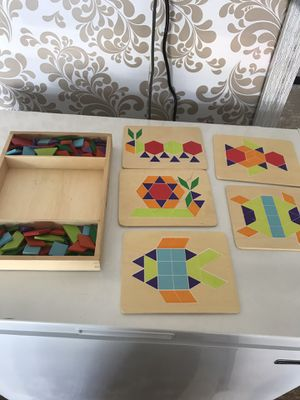 Wooden smart games, puzzle for kids for Sale in Aldie, VA