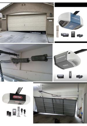 New garage door opener never used installed including labor and material for Sale in Arlington, TX