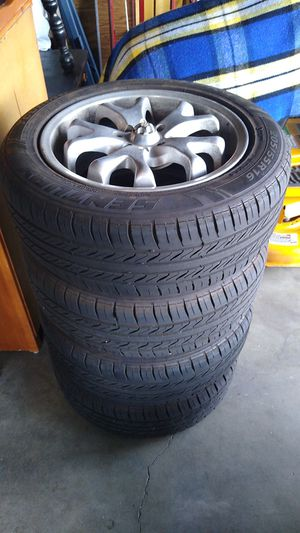 16 inch rims and brand new tires for Sale in Wenatchee, WA