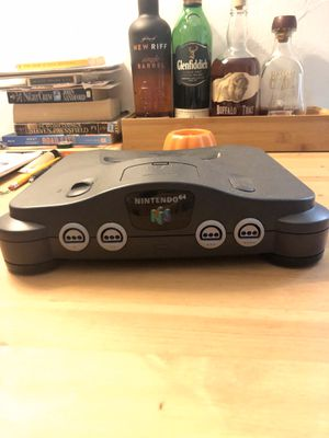 Nintendo 64 (1 controller + cables) for Sale in Fort Lauderdale, FL